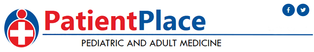 PatientPlace header which says, Pediatric and Adult Medicine